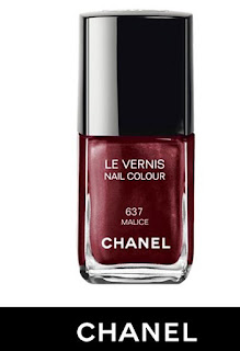 This is a photo of Chanel Malice 637 Nail Polish