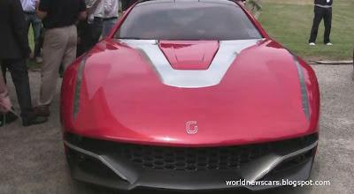 2012 Italdesign Giugiaro Brivido Concept at Villa d'Este!
