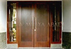 Kumpulan Gambar Desain Pintu Utama Rumah Minimalis Modern