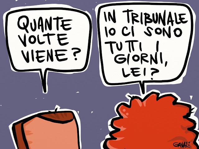 Gava gavavenezia venezia satira vignette caricature ilda bocassini berlusconi battute osteria viscido porco green power vomito basso