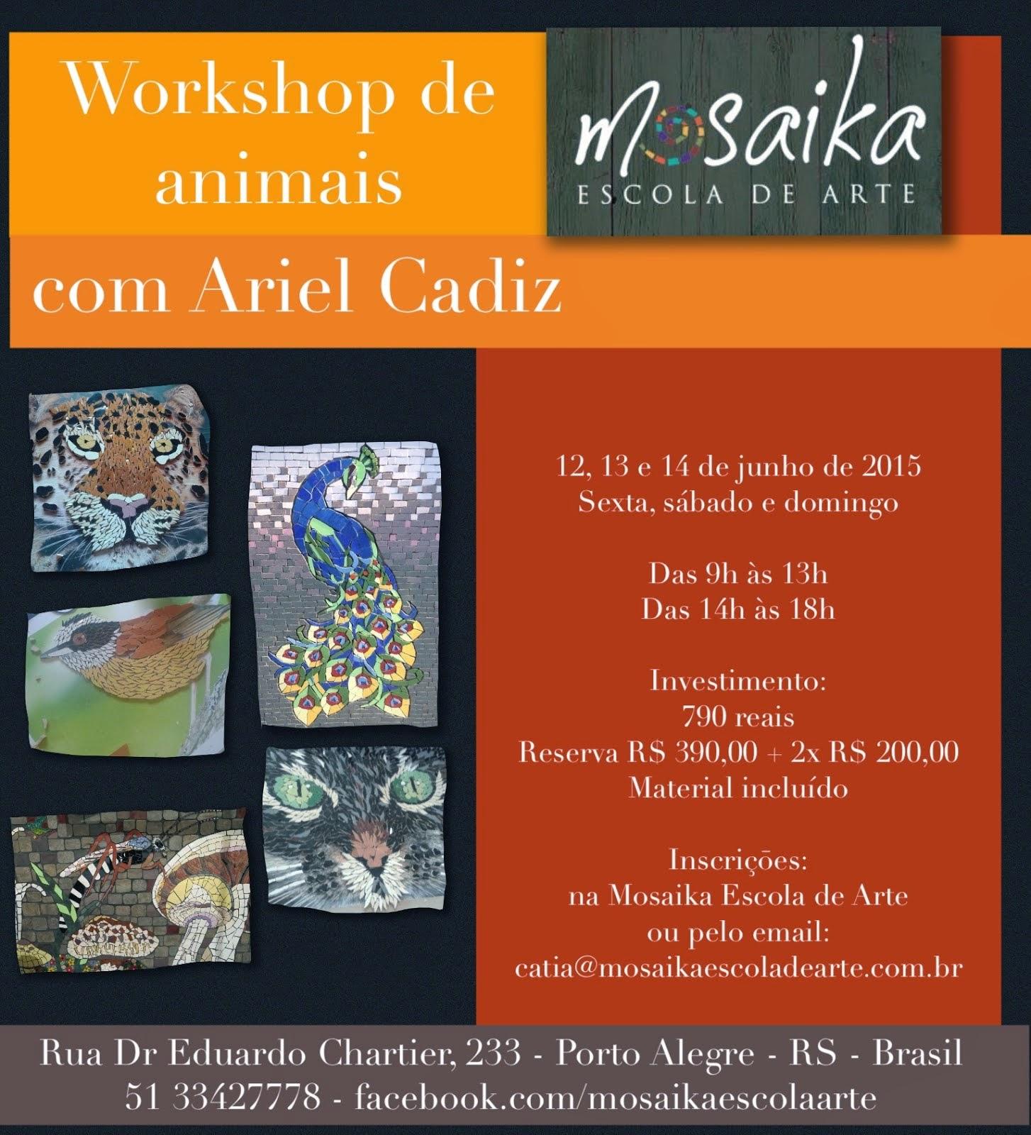 Workshop de Animais/Porto Alegre