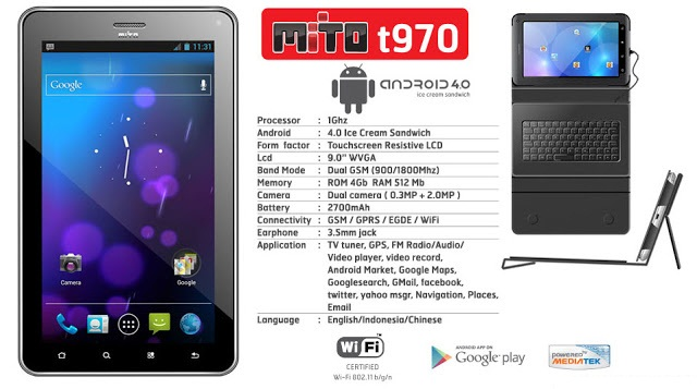 MITO T970 TabletBook