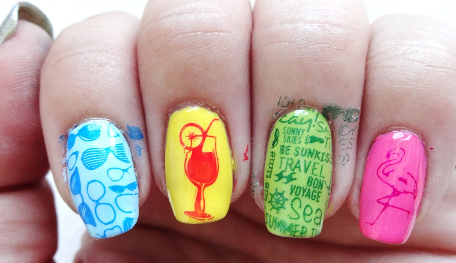 Stamped Nails