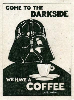 Ilustração filmes Star Wars