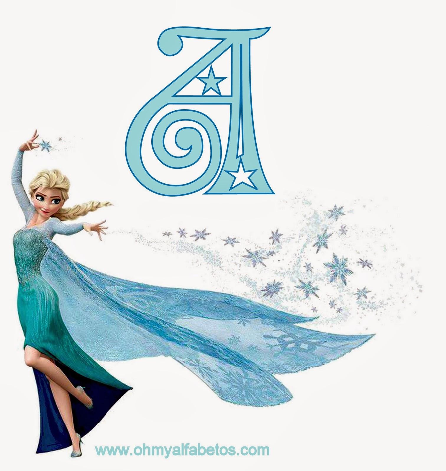 Frozen Alphabet.