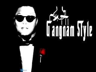 Gangnam Style Psy Godfather Poster HD Wallpaper
