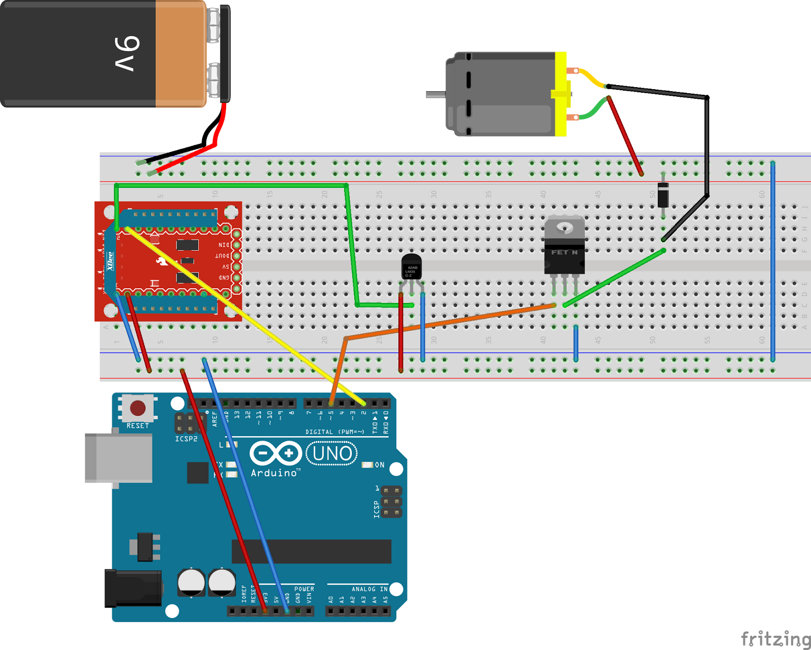 Getting Into Arduino: Practice - Activating a Fan Depending on the ...