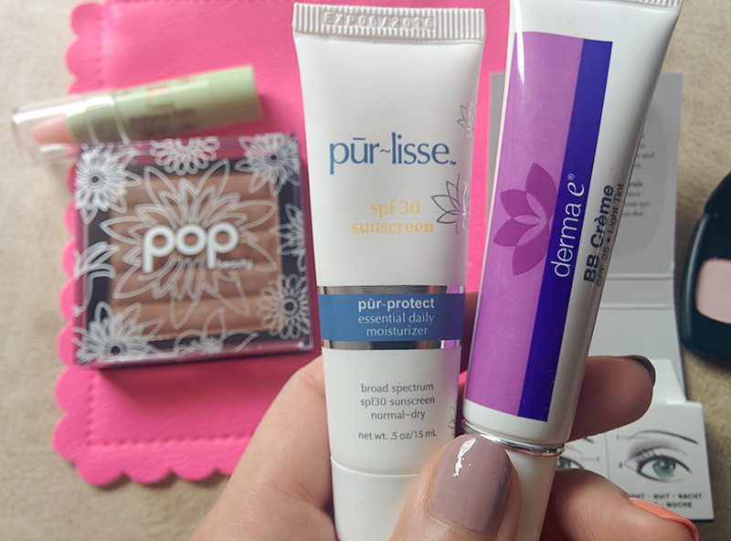 pur~lisse pur~protect essential daily moisturizer, derma e bb creme with spf 25