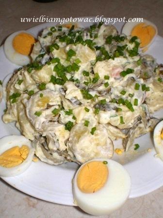 Niemiecka sałatka Kartofelsalad