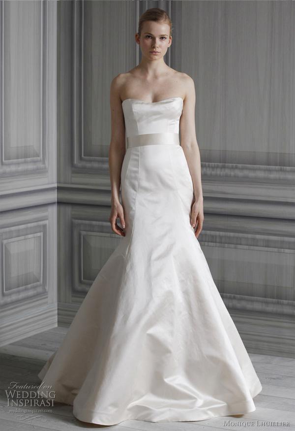 Monique lhuillier wedding dresses spring 2012 bridal for Wedding dresses spring tx