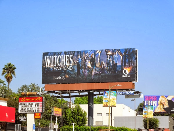 Witches East End billboard