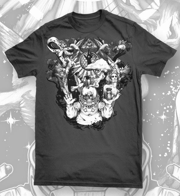 Jimi Benedict, T-Shirt Prints and Illustrations