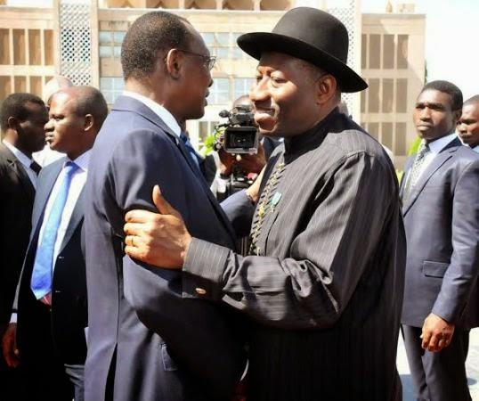 PHOTONEWS: President Jonathan visits Chadian President, Idriss Deby
