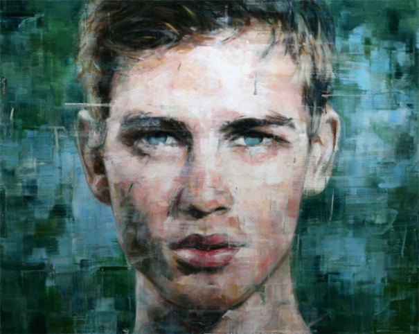Brilliant oil paintings portraits by harding meyer