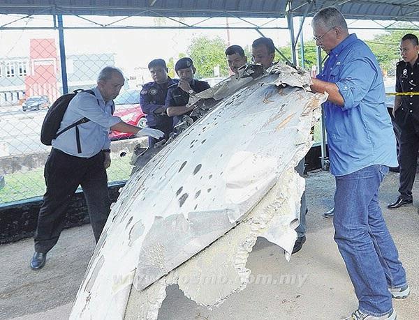 Serpihan pesawat yang ditemui di Besut, bukan milik MH370