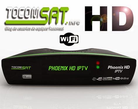 ATUALIZAÇÃO TOCOMSAT PHOENIX HD IPTV - V 01.12 - 29/03/2015