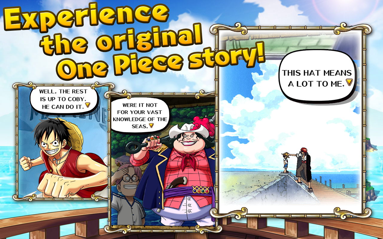 One Piece Treasure Cruise Apk indir 2.0.0 Android