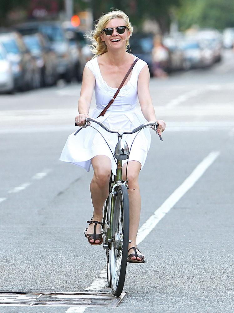 Kirsten Dunst a bringán