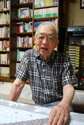 Akira Yamada is pictured in the city of Fukushima. (Mainichi)