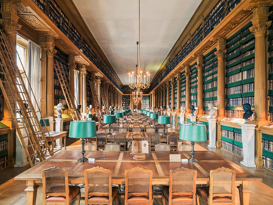 Bibliothèque Mazarine, Paris - House Of Books: The Most Majestically Beautiful Libraries Around The World Photographed By Franck Bohbot