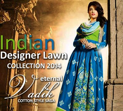 Eternal Vadik Cotton/Lawn Designer Suits 2014-2015