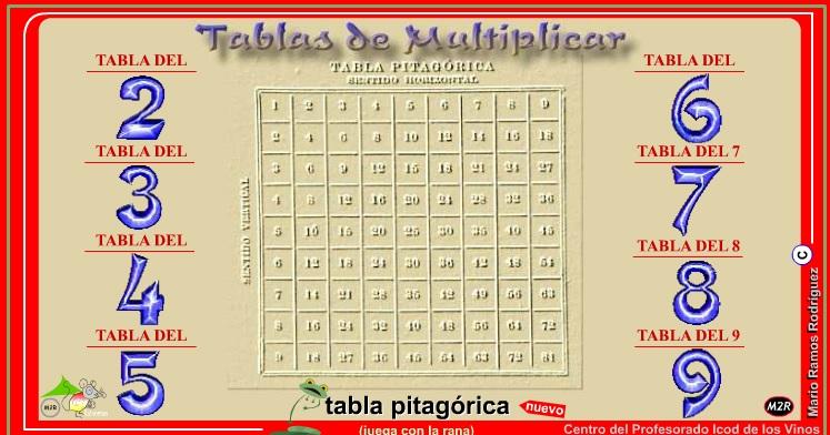 Practicar taules de multiplicar