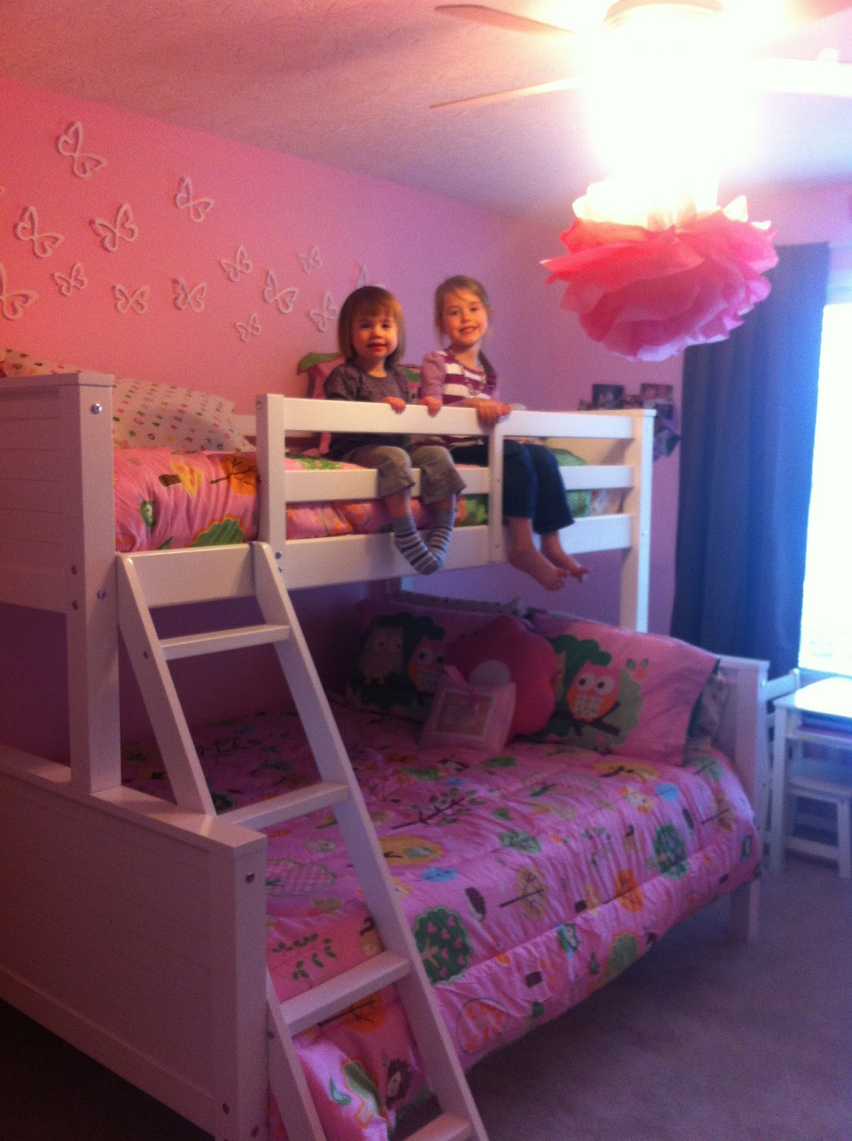 Life Wrapped In Pink Big Girls Room