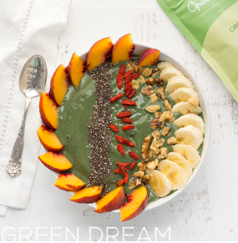 Green Dream Smoothie Bowl