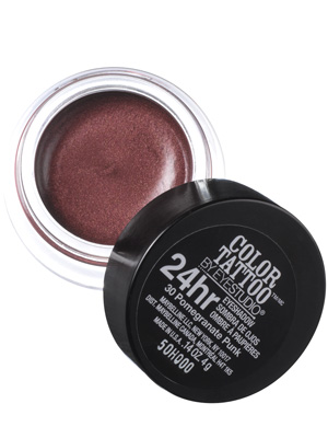 Entirely from heart maybelline color tattoo eye shadow in for Maybelline color tattoo in pomegranate punk