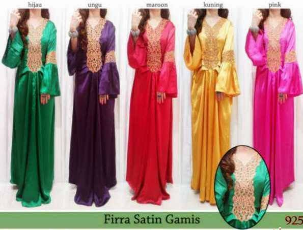 Kumpulan model baju busana muslim terbaru berita Model baju gamis terbaru lebaran 2014