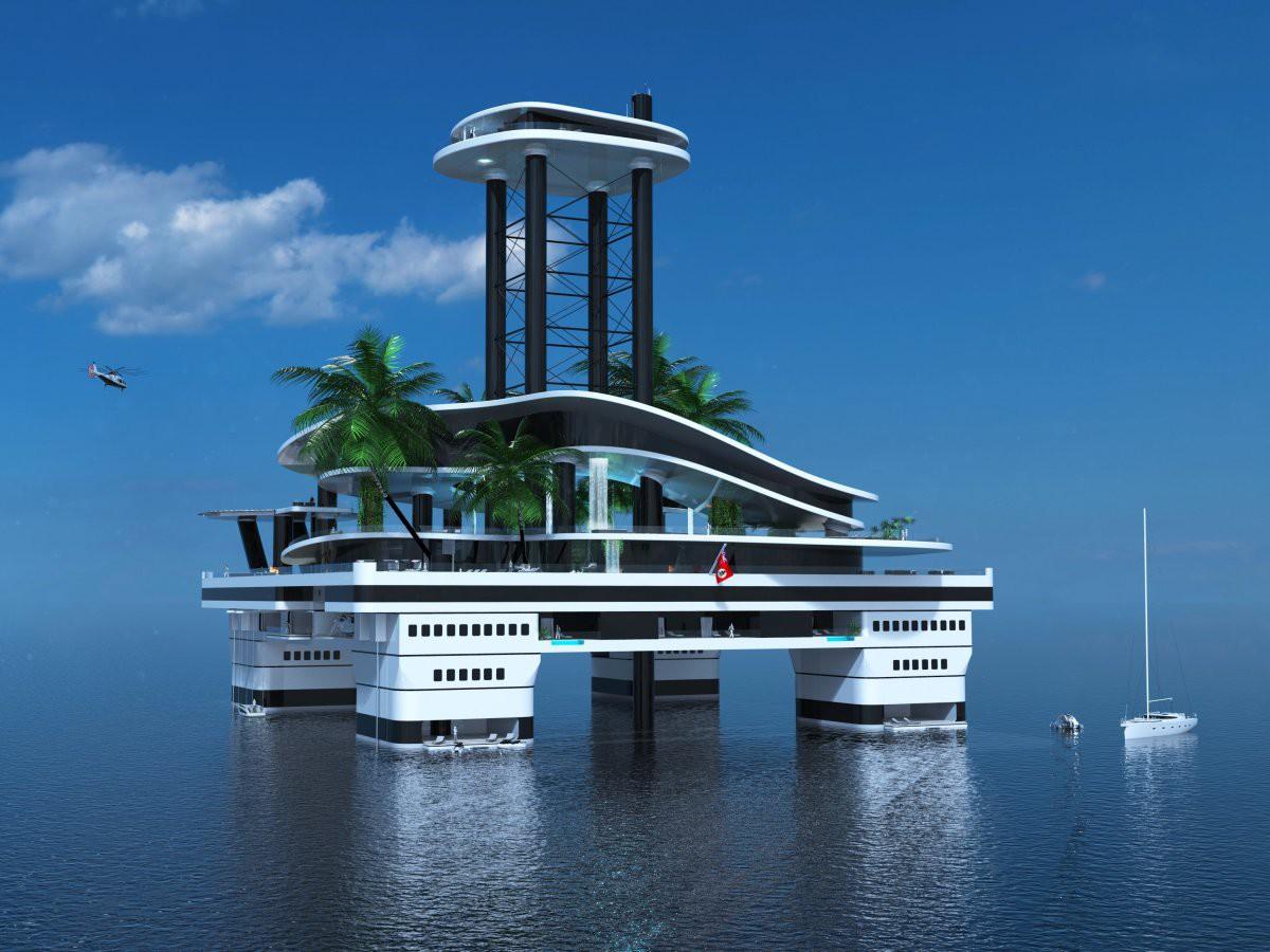 Дом-остров