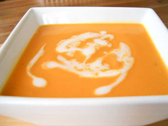 Carrot Curry Soup