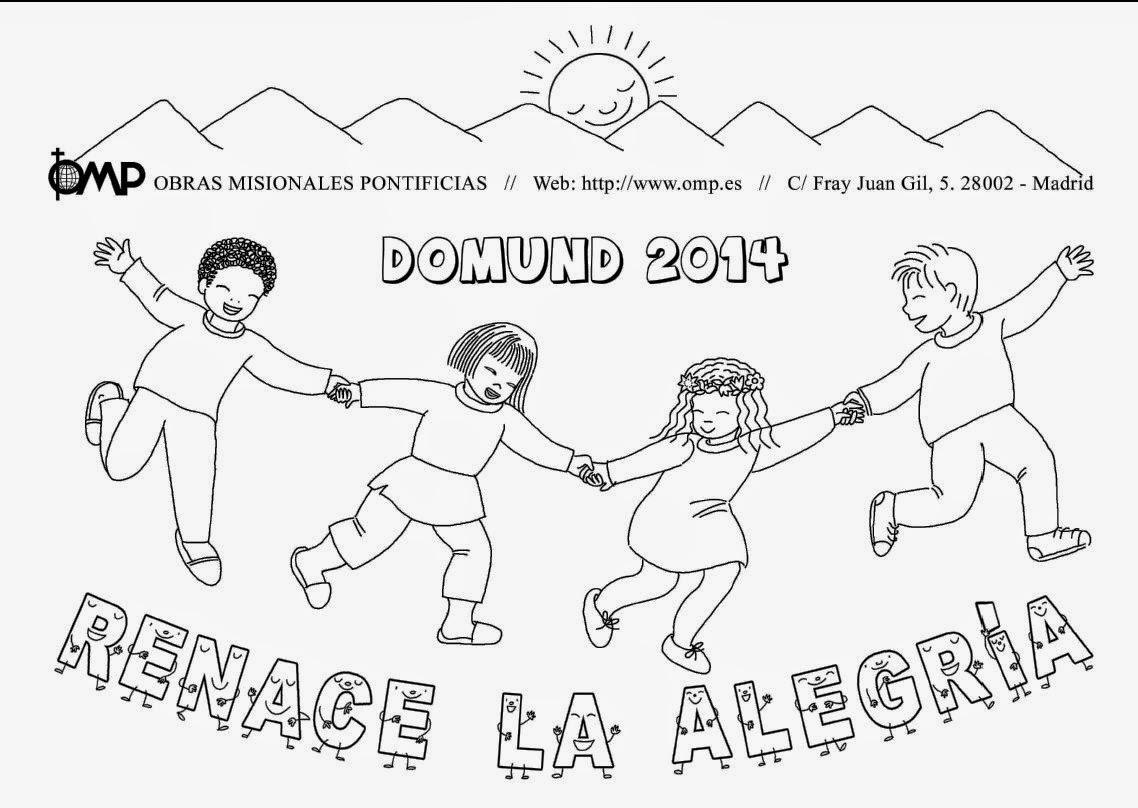 Pastoral Infantil Padres Somascos de España: DOMUND 2014