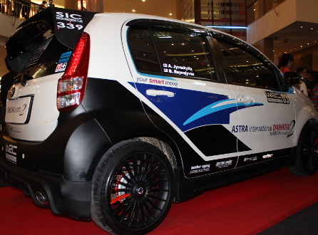 Modifikasi Mobil Daihatsu Sirion Terbaru 2015