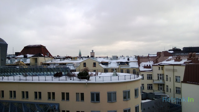 View over the rooftops of Helsinki