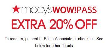 Macys Printable Coupons July 2014