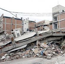 cambio de piso y hundimientos y desprendimientos en varias zonas de Madrid