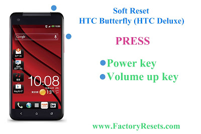 Soft Reset HTC Butterfly