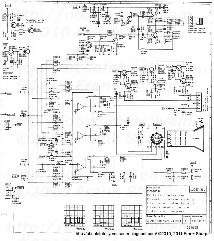 obsolete technology tellye loewe ct1170 art no 57410l chassis rh obsoletetellyemuseum blogspot com AM Radio Circuit Diagram Radio Receiver Circuit Diagram