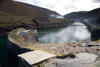Quay at Boscastle