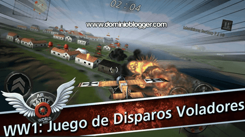 Feroces combates aereos en el juego Air Battle World War