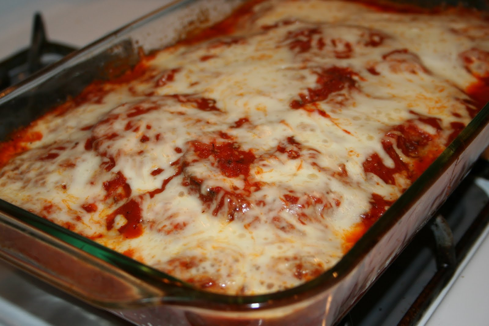 The Italian Fork: Delicious Eggplant Parmesan
