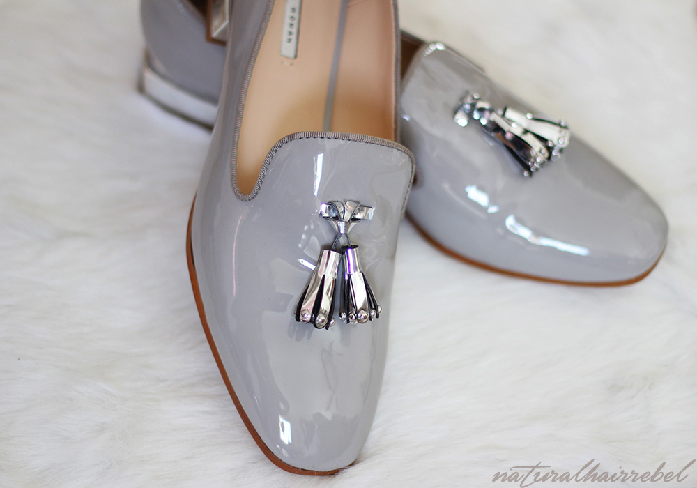 |Natural Hair Rebel| Zara slip-on tasseled shoes