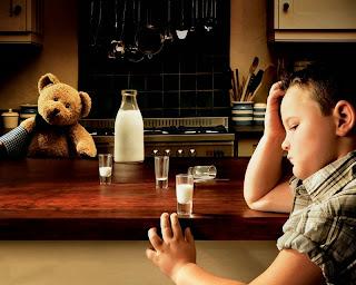 Imagenes Graciosas de Niños, Oso Consolador