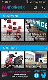 screnshot aplikasi marketeers online untuk android
