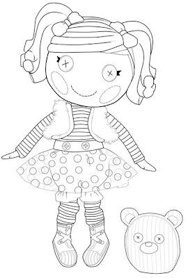 muñeca lalaloopsy con oso