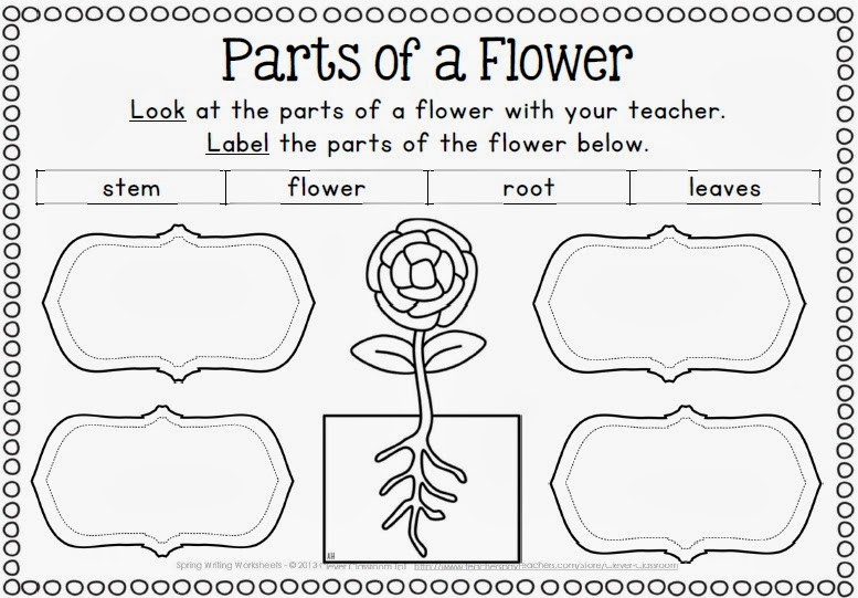 Spring themed resources and ideas