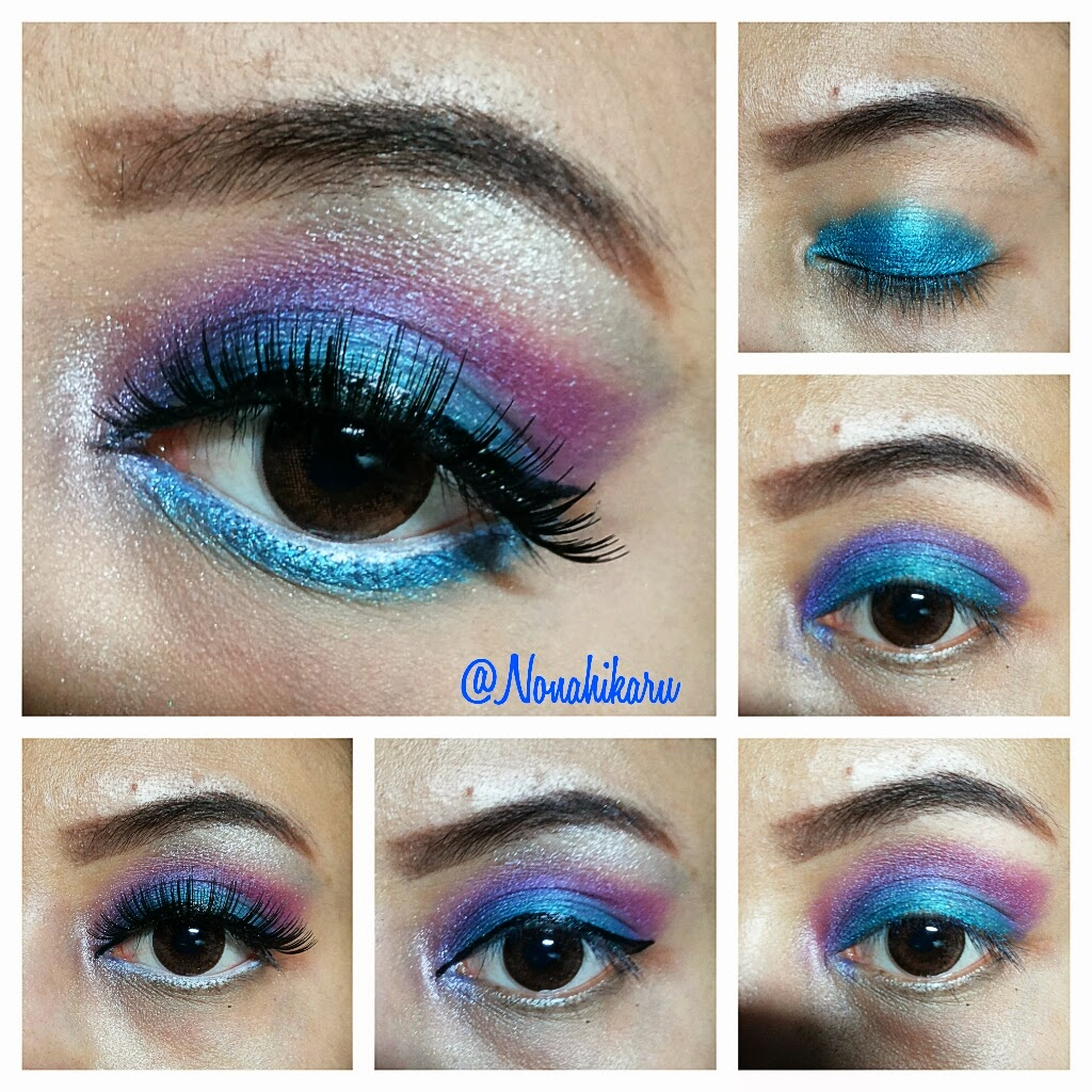 TUTORIAL : EXOTIC BLUE ^^ - Beauty & Travelling