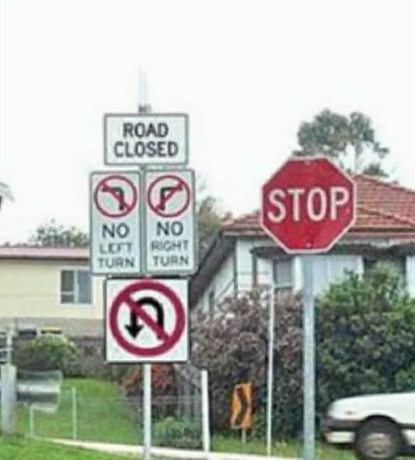 Funny Signs Picdump #9, weird signs, funny traffic signs