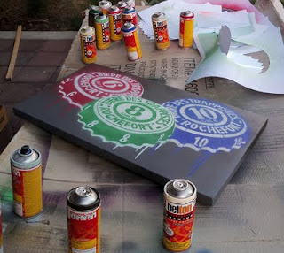 rochefort spray paint